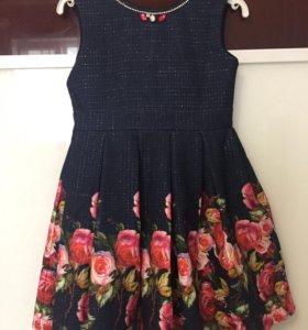 Платье на девочку (128 см)