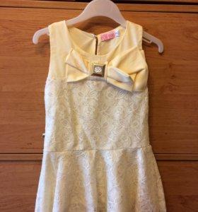 Детское платье для девочки 2 года