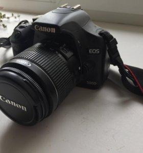 Canon EOS 500D + Kit 18-55