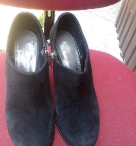 Туфли замш 36