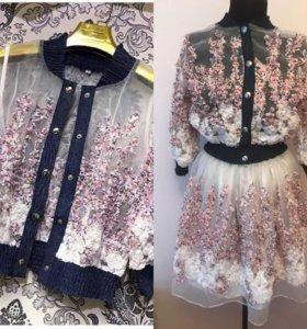 Комплект юбка пачка и кофта