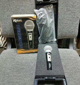 Микрофон динамический проводной Ritmix RDM-138
