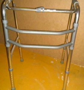 Новые ходунки для инвалида