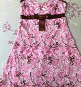 Летнее платье гипюр