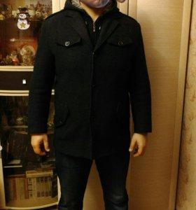 Пальто мужское с капюшоном (осень/зима)