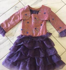 Платье новое, р.128-134