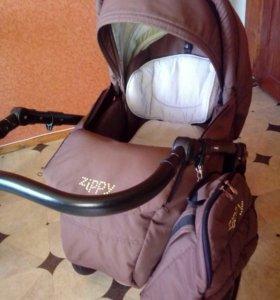 Коляска прогулочная Tutsi Zippy Sport коричневая