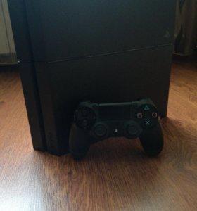 PS4(500gb)+игра