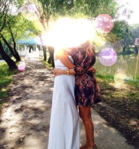 Свадебное греческое красивое платье