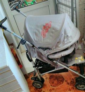 Детская прогулочная коляска-трость