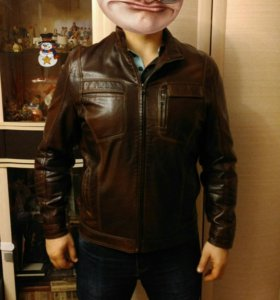 Мужская куртка (кожзам)