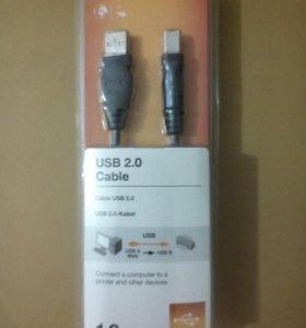 USB Кабель для принтера 1.8 м