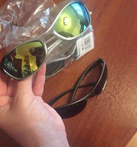 Очки солнцезащитные (спортивные) новые!