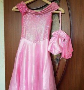 Платье на выпускной на 6-8 лет