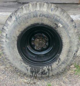Колесо от УАЗ на 15