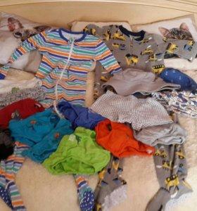Огромный пакет вещей на мальчика от 2 до 4 лет!!!!