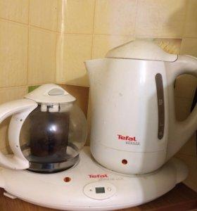 Чайник с чайником для заварки