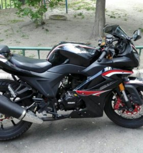 Мотоцикл 250 кубов, документы все в наличии
