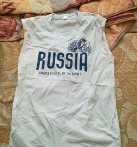Футболка новая Россия