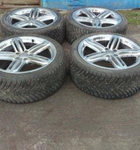 Зимние шины nokian hkpl8 255/35 R19 на дисках Audi