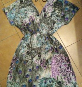 Платье-павлин