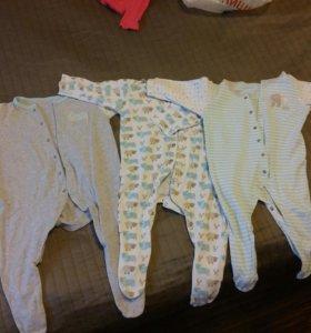 Слипы Mothercare 6-9мес