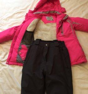 Горнолыжный костюм на девочку 10-12 лет