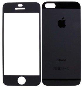 Матовые Стекла iPhone 5,6,7.