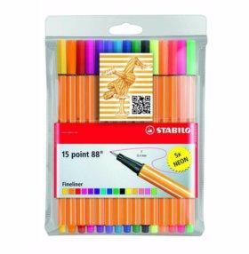 Капиллярные ручки stabilo