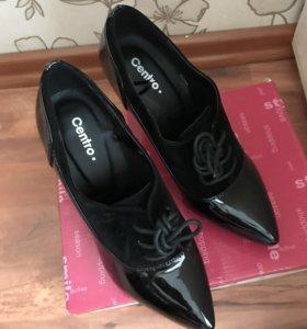 Туфли женские лакированые