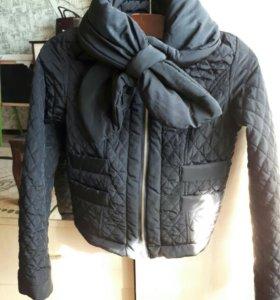 Куртка монклер р40-42,балетки р35(36)