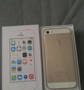 Айфон 5s золотого цвета