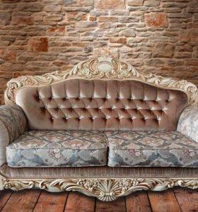 Мягкая мебель Верона (диван и 2 кресла)