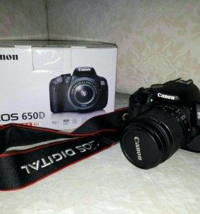 Фотоаппарат Canon D 650