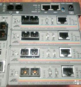 медиа-конвертеры Allied Telesis AT-MC102XL