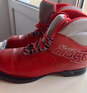 Лыжные ботинки 35-36 размер