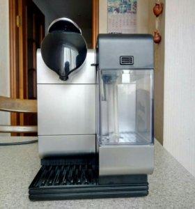 Кофемашина Delonghi Nespresso Lattissima+