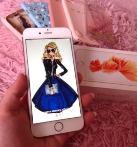 Айфон 6s, 32 Gb, розовый
