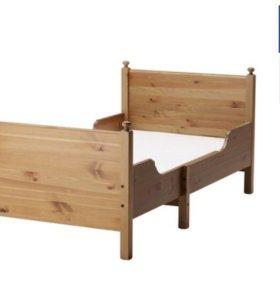 Раздвижная кровать с матрасом бу
