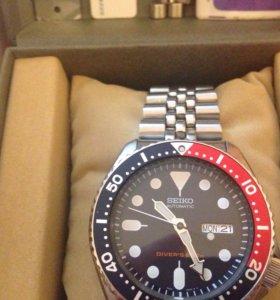 Продам часы Seiko automatic diver's 200 m pepsi