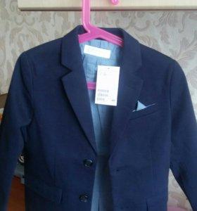Пиджак НМ новый размер 5-6