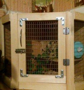 Клетка - витрина для мелких грызунов