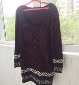 Платье - джемпер новое