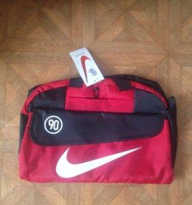 Красная сумка Nike 90