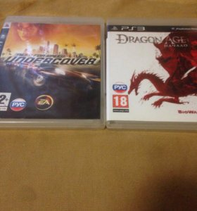 Need for speed и dragon Age на PS3