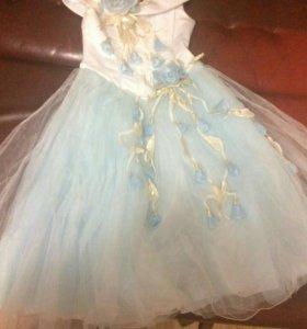 Платье для девочки 6-10лет