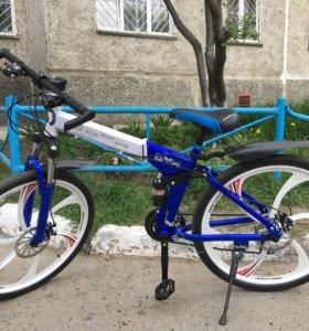 """Велосипед BMW складной 26"""" литьё"""