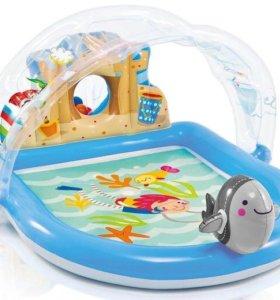 """Игровой центр-бассейн """"Дельфин с фонтаном"""""""
