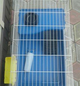 Клетка для домашнего кролика (зайчика)