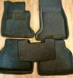 BMW E60/61. 3 D коврики.